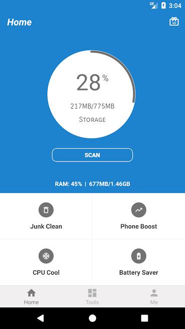 4 GB RAM Memory Booster - AppLock home 1.png