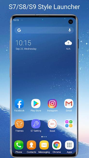 S7 S8 S9 Launcher for Galaxy S A J C, S9 theme apk.png