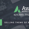 Avada - Responsive MultiPurpose WP Theme Nulled