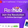 REHub - Price Comparison, Affiliate Marketing, Multi Vendor Store, Community Theme Nulled